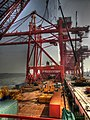 Loading Of Container Cranes To The Vessel - panoramio.jpg