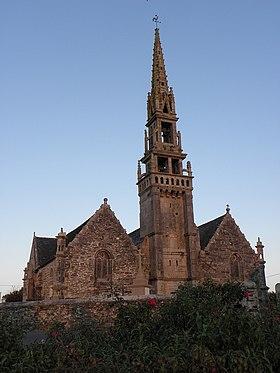 L'église paroissiale Saint-Éguiner.