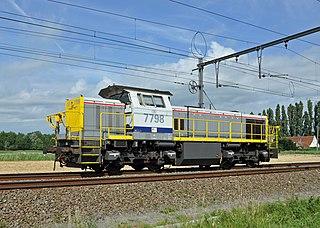Belgian Railways Class 77 class of diesel hydraulic locomotive