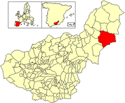 Location of Cúllar