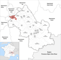 Locator map of Kanton Vienne-1 2019.png