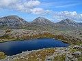 Lochan near the summit of Glas Bheinn - geograph.org.uk - 1450960.jpg