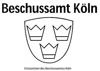 Proof test - Image: Logo Beschussamt Köln (Ortszeichen)