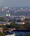 London, view from Shooters Hill, Woolwich & City Airport03a.jpg