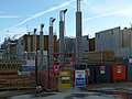London-Woolwich, construction site Crossrail station - 6.jpg