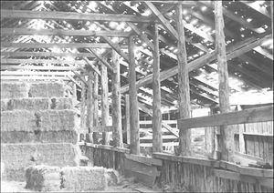 P Ranch - Image: Long Barn interior, P Ranch, Frenchglen, Oregon