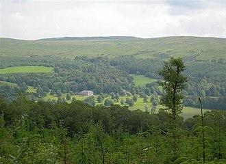 Kilkerran House - Looking towards Kilkerran House