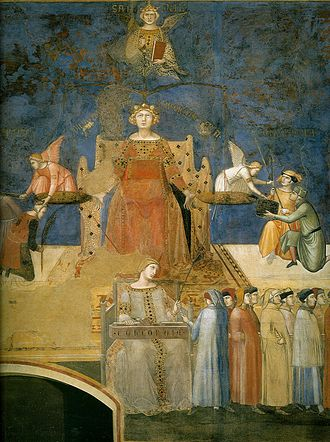 The Allegory of Good and Bad Government - Justice in Allegory of Good Government