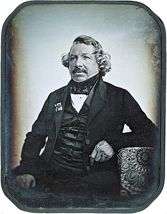 Louis Daguerre - Daguerre around 1844