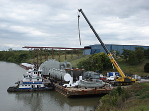 Tulsa Port of Catoosa - Low Water Wharf