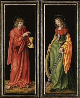 Lucas Cranach d.Ä. - Der Feilitzscher Altar (geschlossen)
