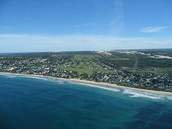 Aerial photo of St Francis Bay