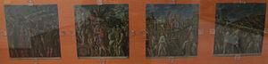 Ludovico Dondi - Copies by Dondi of the  Mantegna's Triumphs of Caesar at Pinacoteca di Siena