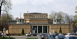 Ludowy (People's) Theater, 34 Teatralne Estate, Nowa Huta,Krakow,Poland.jpg