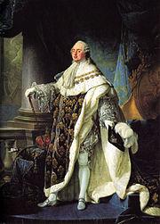 Ludvig XVI av Frankrike porträtterad av AF Callet