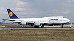 Lufthansa Boeing 747-400 (D-ABVU) at Frankfurt Airport (5).jpg