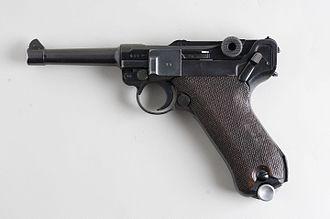Luger pistol - Luger P08