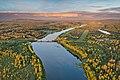 Luiro river at Tanhua in Savukoski, Lapland, Finland, 2021 June.jpg