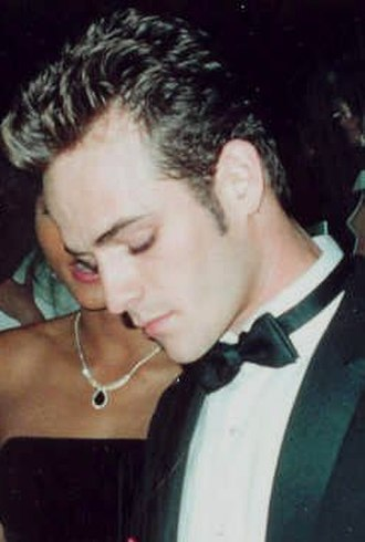 Luke Perry - Perry at the 1991 Emmy Awards