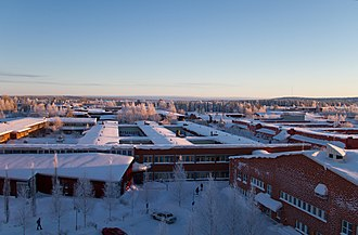 Luleå University of Technology - View over the university