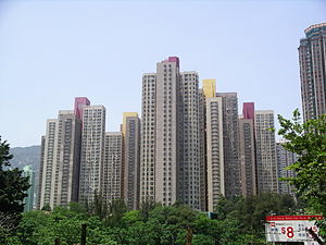 Public housing estates in Diamond Hill - Lung Poon Court