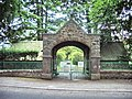 Lych gate, Grange Fell Cemetery, Grange-Over-Sands - geograph.org.uk - 453528.jpg