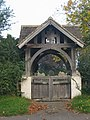 Lych gate, Town End cemetery, Somerby, Leicestershire - geograph.org.uk - 66000.jpg