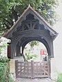 Lych gate to St John's churchyard - geograph.org.uk - 812256.jpg
