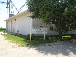 Lynnville Township Building in Lindenwood.