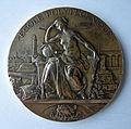 Médaille bronze Ecole polytechnique 1894. Graveur Maximilien Louis BOURGEOIS (1839-1901) (1).JPG