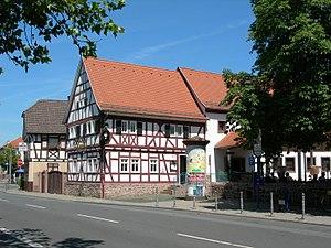 Mörfelden-Walldorf - Image: Mörfelden Gasthof Goldener Apfel