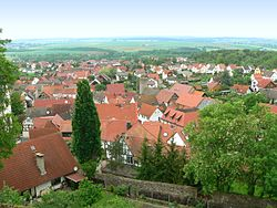 View of Münzenberg