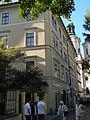 Měšťanský dům U zlaté husy (Staré Město), Praha 1, Mikulášská 8, Staré Město.JPG