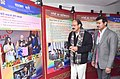 M. Venkaiah Naidu visiting the exhibition at the release of the Government of India Calendar-2017 and Press in India Report 2015-16, in New Delhi (1).jpg