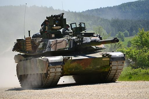 M1A2 tanks at Combined Resolve II (14069815848)