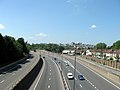 M32 motorway southern end with A4032.jpg