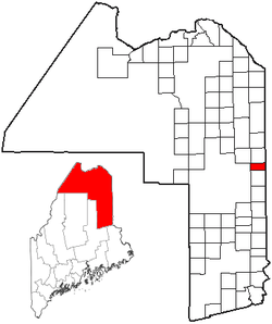Location of Blaine, Maine