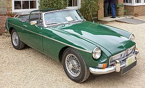 MG MGB - 1969 MGB roadster