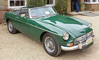 MG MGB car model