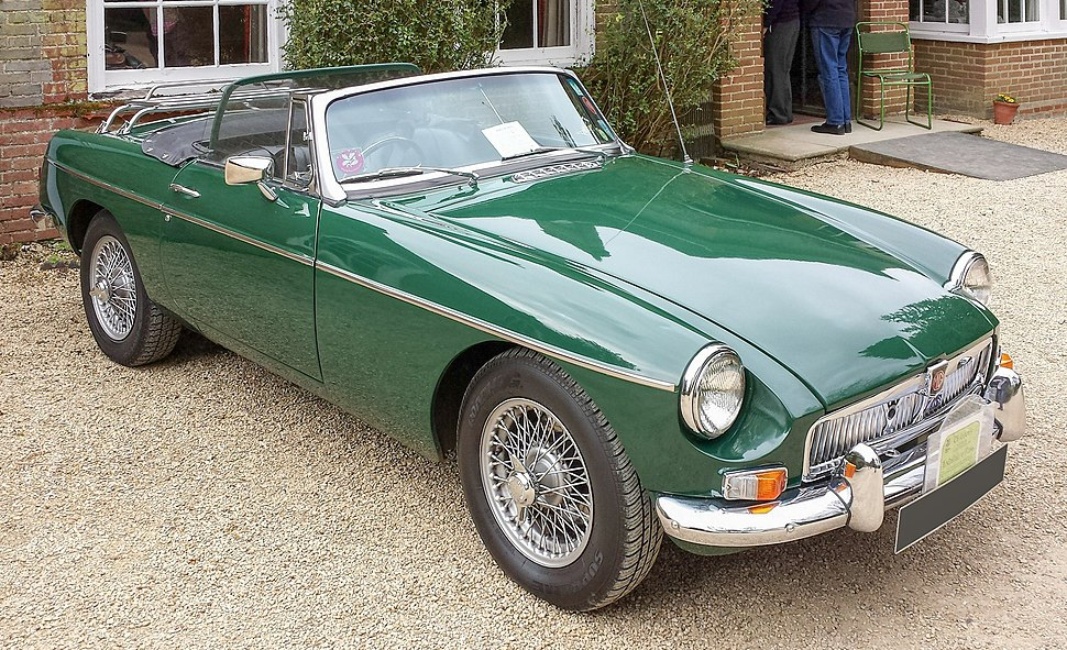 MG MGB open roadster 1969