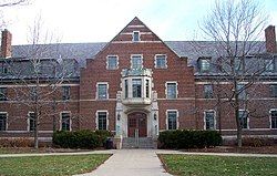 Snyder-Phillips Hall was built in 1947. The building was recently expanded to make room for a new residential college.