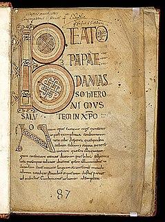 Breton Gospel Book (British Library, MS Egerton 609)