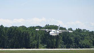 Mitsubishi MU-2 - MU-2 landing
