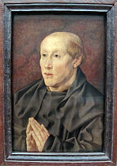 Portrait d'un bénédictin