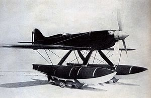 Macchi M.C.72 - A M.C.72 on the ground