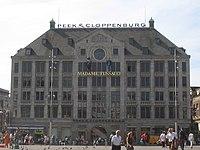 Il Madame Tussauds ad Amsterdam.