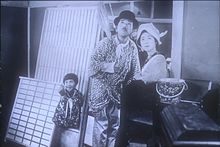 Dari kiri ke kanan Mitsuko Ichimura , Atsushi Watanabe , Kinuyo Tanaka