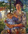 Madre con bambino di Gino Barbieri.jpg