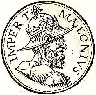 Odaenathus - Maeonius as depicted in the Promptuarii Iconum Insigniorum