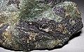 Magnetite-pyrite-actinolite rock (Jurassic, 156-162 Ma; Mina 5, Marcona Magnetite Deposit, Ica Department, Peru) 4.jpg